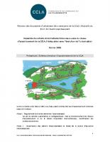 CCLA – Note sur l'assainisement et la révision des documents d'urbanisme